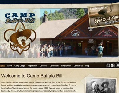 Camp Buffalo Bill Website