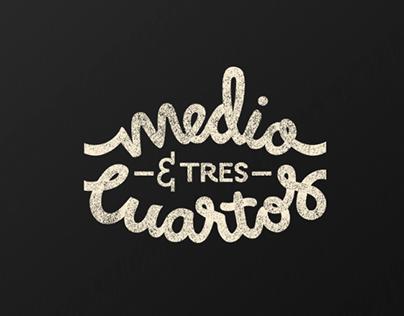 Medio&trescuartos | Branding