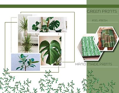 GREEN PRINTS WORK