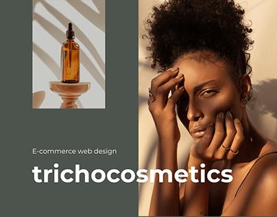 Trichocosmetics — e-commerce design ux | ui