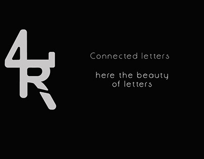 Connected letters