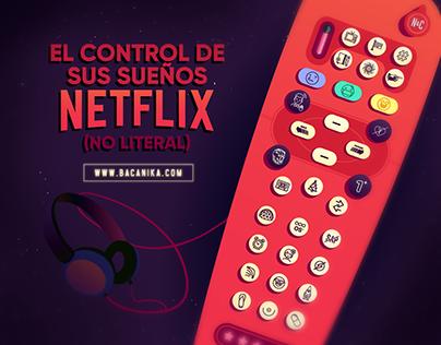 El control de sus sueños Netflix - Bacanika