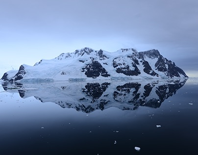 Mirror Image (Reflection in Lemaire Channel, Antarctica