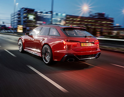 AUDI RS6 RED