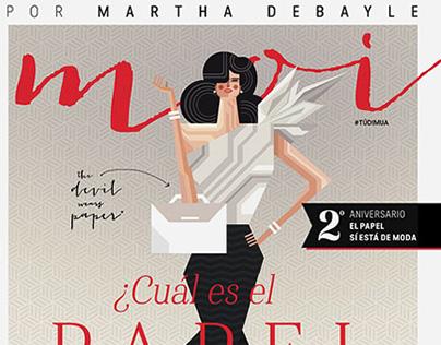 Aniversario / Portada Revista MOI / Vicente Marti Solar