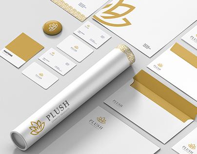 Plush - Brand identity
