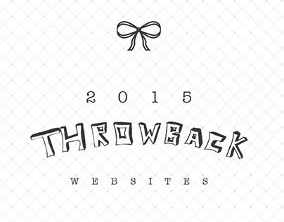 Throwback 2015