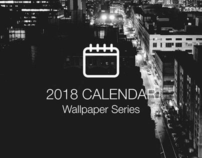 Desktop Calendar Series   2018