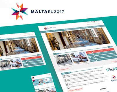 Malta EU 2017 - website