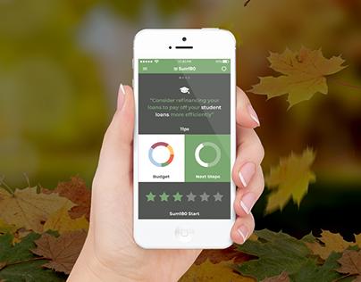 Sum180 App Concept Design