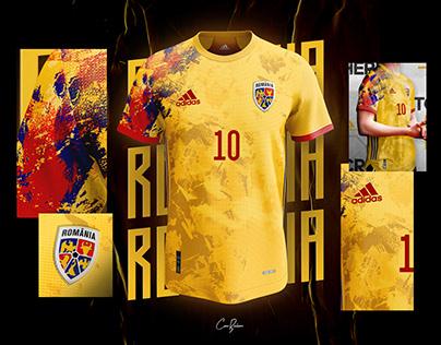 Romania x Adidas | Home 2021/22 Concept