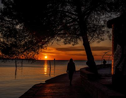 tramonto a Portorose