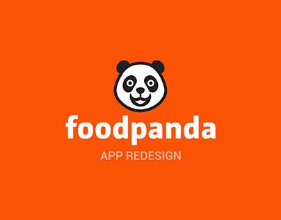 Foodpanda App Redesign