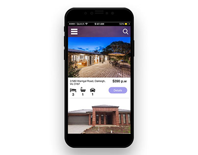 Responsive website for Unreal Realestate, USA