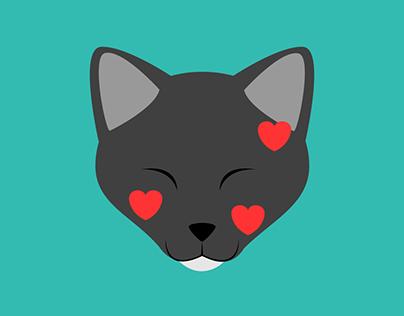 Henry the Black Cat