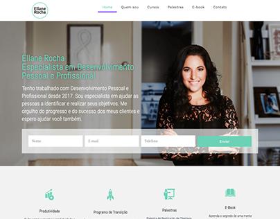Web Site - Ellane Rocha