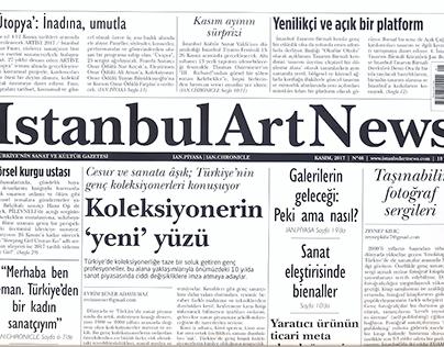 Istanbul Art News . Nov 2017
