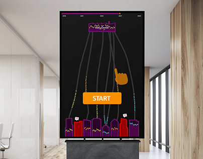 Keep'Em Connected - Touch Screen game