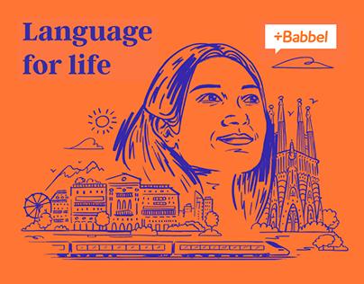 Babbel USA / Illustration Set