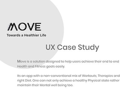 UX Case Study: Health & Fitness