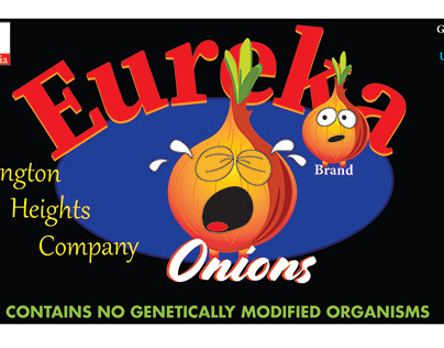 Eureka Onions Label