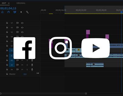 Social Media Videos (Camera + Editing)