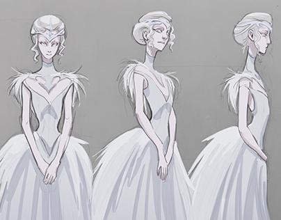 Original Character Design for Manga