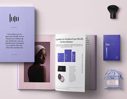 luju - cosmetic packaging