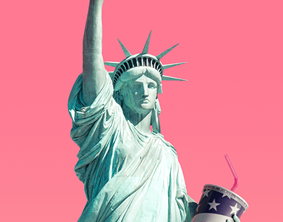 Virgin Atlantic - Statue of Liberty
