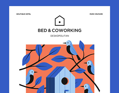 BED & COWORKING