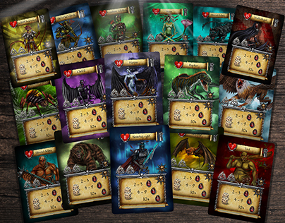 Game cards: Legends of Euthia