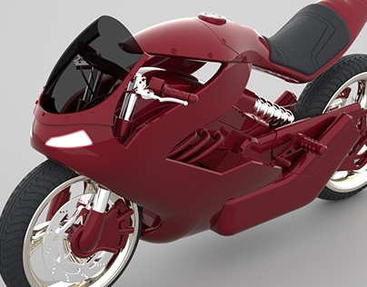 sci fi motorcycle