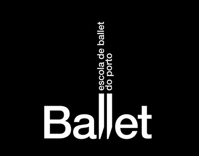 Escola de Ballet do Porto, visual identity