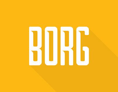 Borg Typeface (FREE)