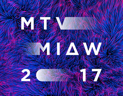 MTV MIAW 2017 Awards Branding