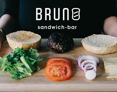 Brand Guidelines Brandbook for mobile app BRUNO