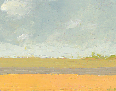 The Hiking Painter Pleinair Landscape Painting