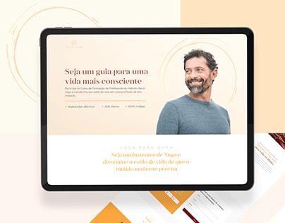KAIUT YOGA I Web Design