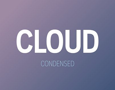 Cloud Condensed (Free Font)