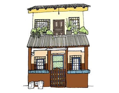 Dibujando mi barrio: Ecuador