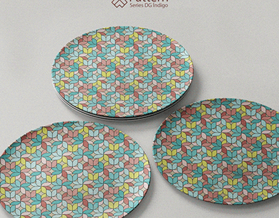 Pattern Series - DG índigo #08