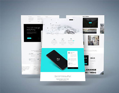 Fjord – Free Modern Landing Page Template