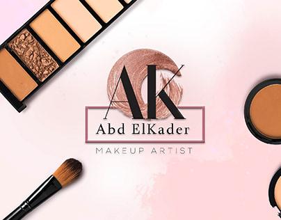 Abdelkader Makeup Logo