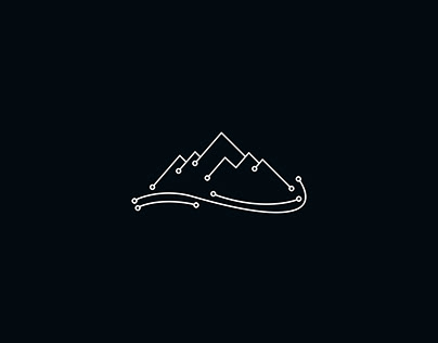 Mountain Technology Logo - Logo design/ only1mehedi