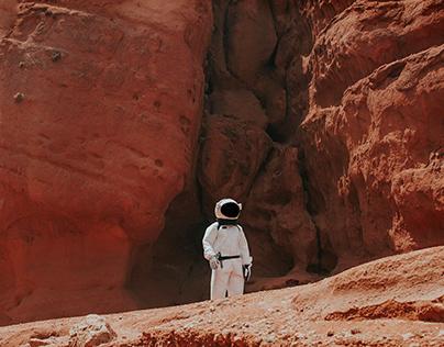 Space ticket website
