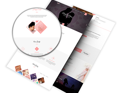 B&D - HTML5 Responsive Wedding Template