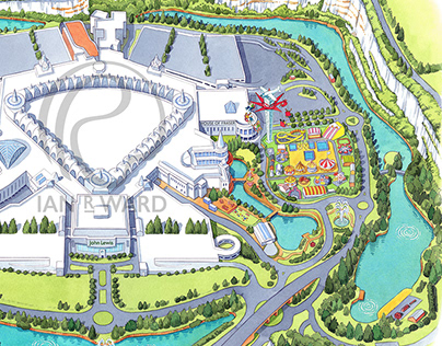 Bluewater Shopping Centre illustration