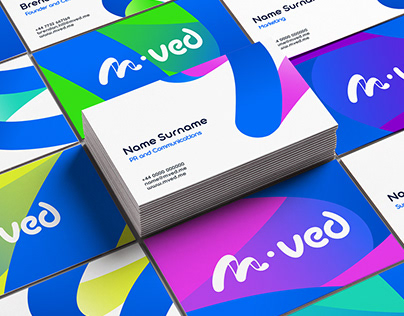 M • ved (moved) Branding
