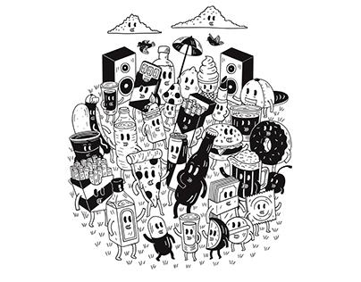 Album Art Illustration