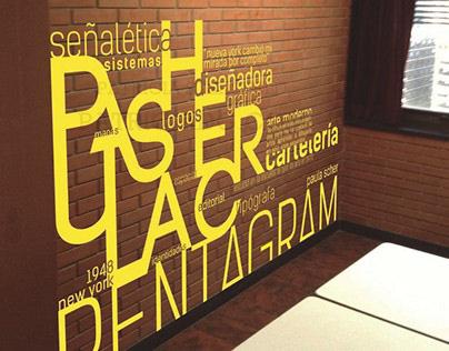 Paula Scher Designer / Typography project